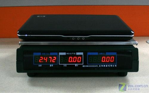 ...47千克  经实际称量,HP Pavilion dv2621TX的带电池整机重量