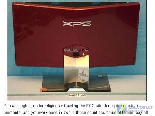 戴尔曝光XPS一体机