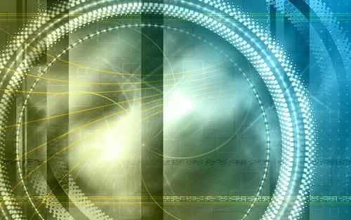 软件资讯 软件学院 平面设计 专为宽屏设计 炫彩曲线高分辨率壁纸(7)图片
