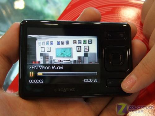 4GB高清显示屏 创新ZEN降价送礼促销