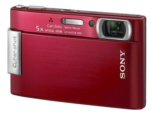 800万像素5X光变 索尼T200红色版降价