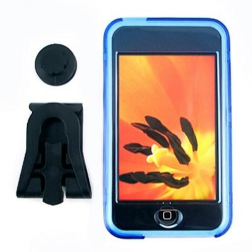 iPod Touch又出五色水晶套及人形支架