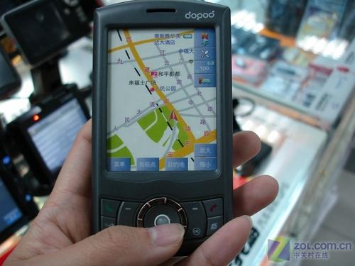 多普达最新手机_GPS手机一机多能 多普达P800市场热卖_多普达 P800_GPS行情-中关村在线