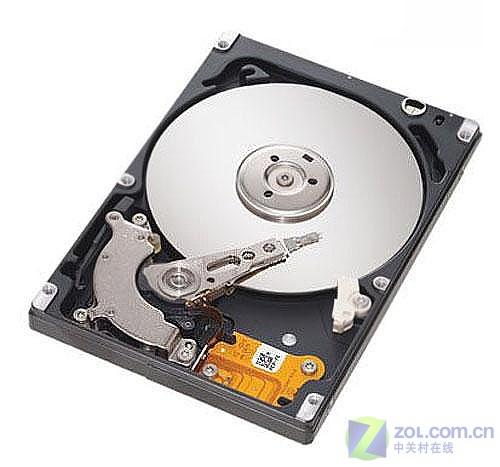 2.5英寸笔记本硬盘拆解-瞬间海纳百川 本本硬盘容量迈进200GB