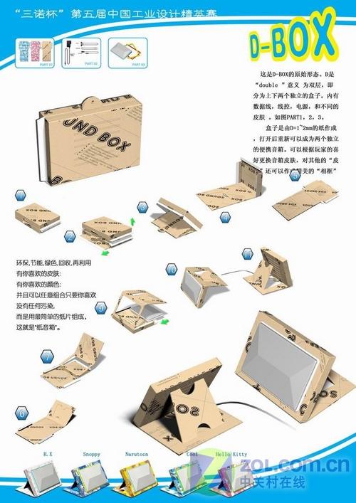 三诺杯工业设计大赛获奖作品赏(组图)