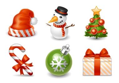 精致可爱的圣诞节主题图标作品全欣赏