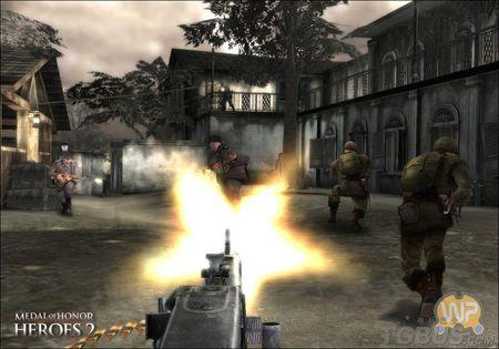 《荣誉勋章:英雄2》Wii版截图放出