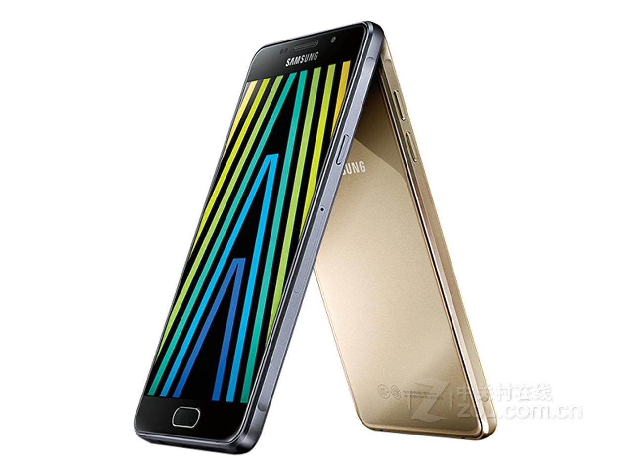 (中关村在线重庆行情)三星近日推出了全新2016版Galaxy A7(A7100),该机相较于前代在外观设计和内在都做出了极大的改变,采用了双面2.5D玻璃,正反两面均为第四代康宁大猩猩玻璃材质,坚固抗摔的同时还带来了圆润的手感,内在依旧是骁龙615处理器,但频率提高到1.6Hz,运存由2GB提高到3GB RAM。整机性能更加强悍,目前该机全新国行在经销商新奇数码处最新报价为2499元,喜欢的朋友不妨去了解一下。  三星A7100 三星2016版Galaxy A7(A7100)搭载了5.