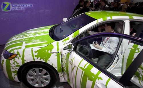 丰田油电混合动力汽车 3110 evolve 手机其它os高清图片