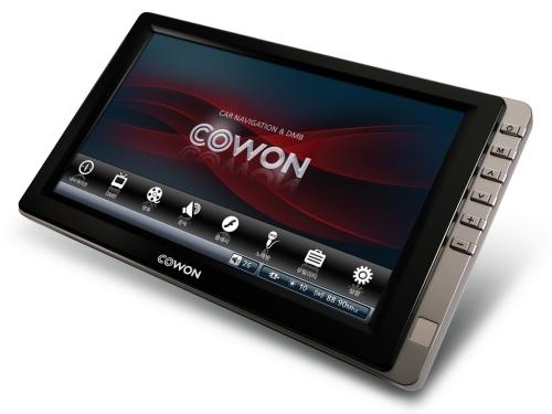 7英寸屏导航影音收视新品Cowon N3发布