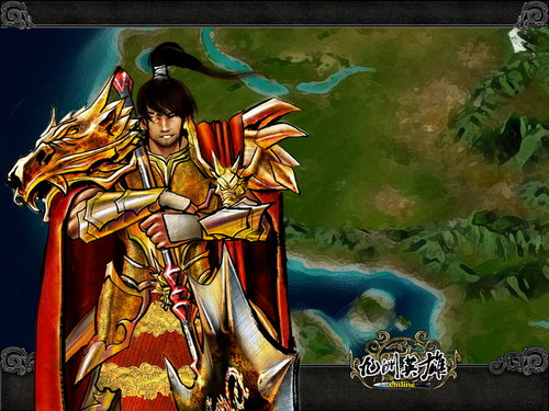奇幻武侠网游《九洲英雄》华丽壁纸