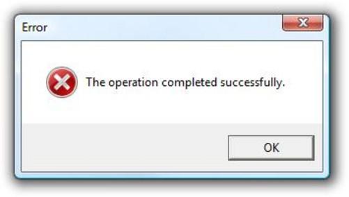 让人笑喷的windows错误提示对话框(图)