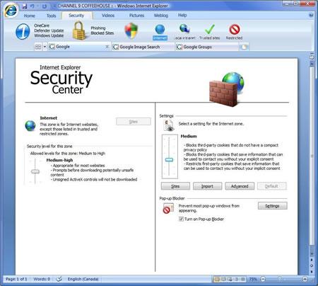最新消息:微软开始封闭内测IE8浏览器