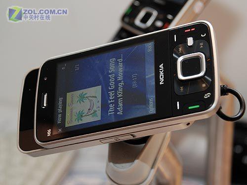 16GB内存只为视频而生 诺基亚N96真机赏