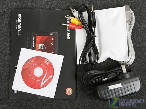 图为:纽曼MANMAN-A6 、视频线、Newsmy、USB数据线、...