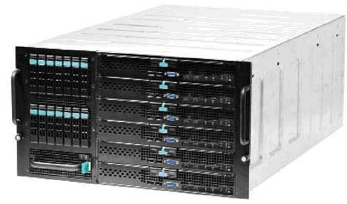 宝德PR6000MS刀片服务器变形出击