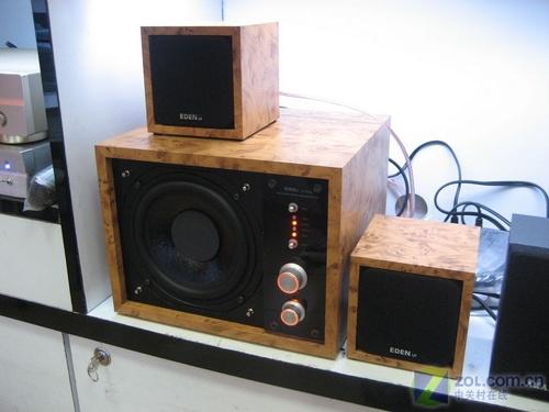 光纤同轴双输入 艺电S-1031D音箱上市