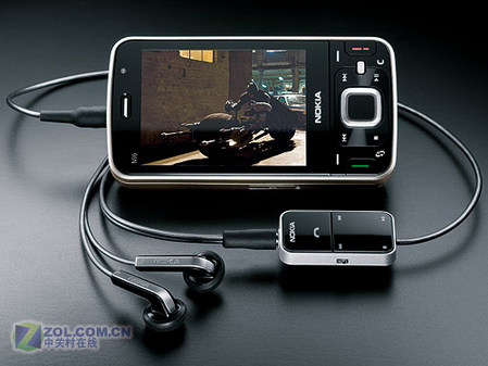 首款S60v3.2 16GB视频机诺基亚N96发布