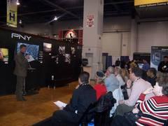 Pny在ces 2008上展示系统集成方案和互动理念