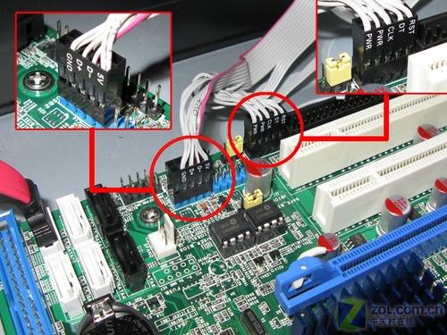 因此强烈建议您在安装的时候尽量避开主板的pci插槽,以免给后来安装pc图片
