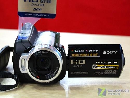 40G容量高清摄像机 索尼SR10E促销送原电