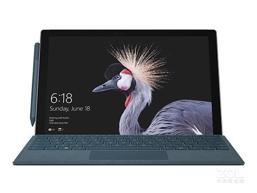 支持面部识别功能微软surface pro5促销