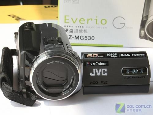 全高清硬盘摄像机 60GB容量JVC HD5降价