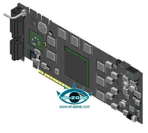 基于GT200的99GTX模型图与规格持续曝光