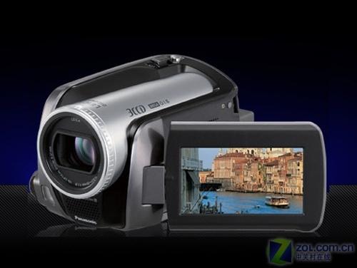 光学防抖、30GB容量 松下摄像机H288降价