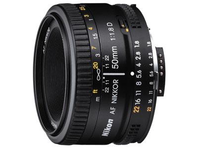 入门人像镜头 尼康AF 50mm F1.8镜头特价