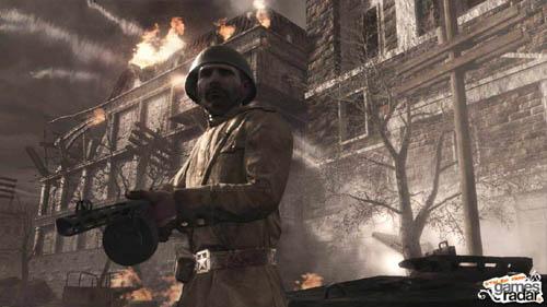 《使命召唤5 战争世界》苏军及德军