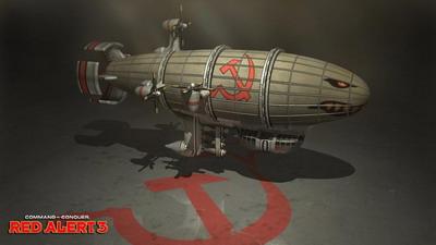 《红色警戒3》单位介绍:基洛夫飞艇