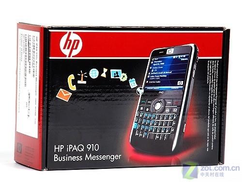 全键盘GPS横屏WM新军 HP iPAQ 910c评测