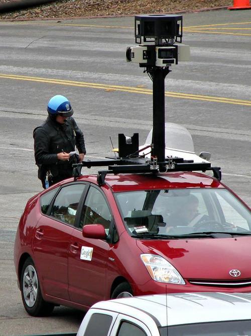 Google又惹麻烦 拍摄车无奈被开罚单
