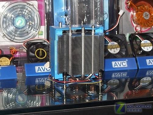 散热防尘两不误 5500攒GTX260游戏平台