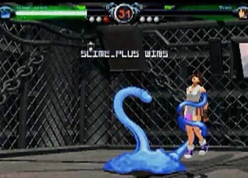 触手大战萝莉 超邪恶的山寨格斗游戏 中关村在线
