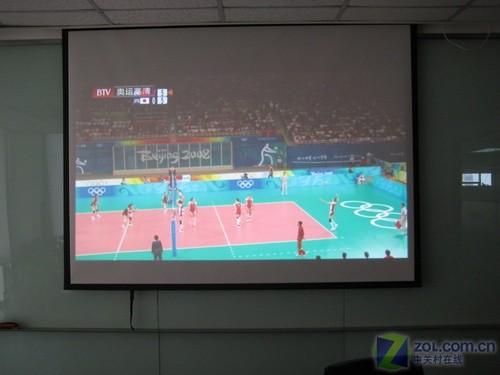 720p投影机_一学就会!手把手教你用投影机看电视_投影机_投影机应用 ...