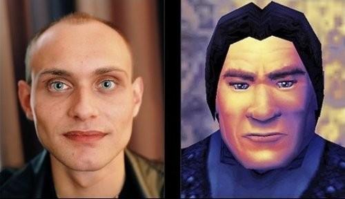 玩家现实与游戏中的形象及性格对比