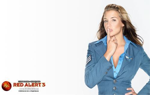性感写真:C罗前女友代言《红警3》