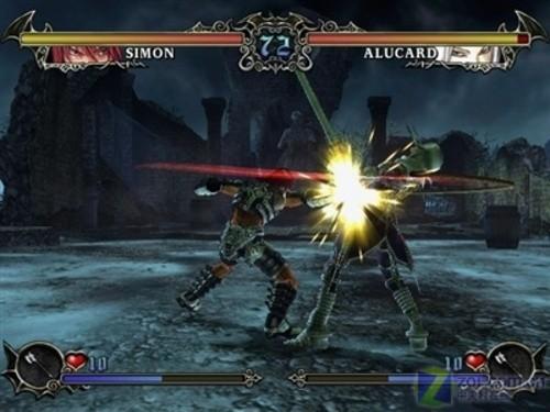 Wii版《恶魔城 审判》明年一月上市