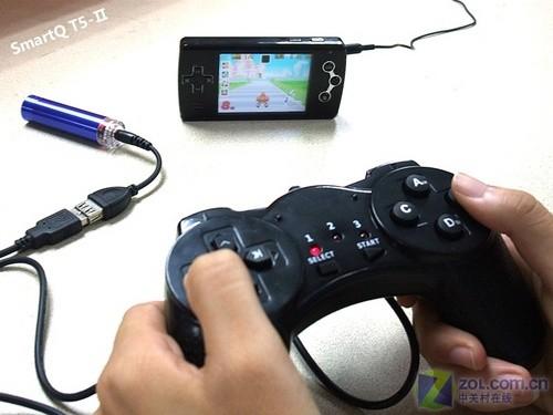 智器t5-Ⅱ无线手柄遥控玩游戏评测