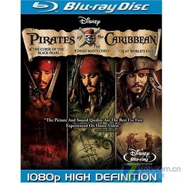 《加勒比海盗》每周热门蓝光影碟推荐