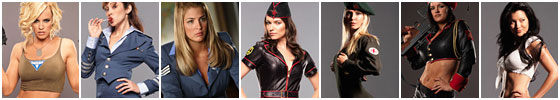 投票:《红警3》七大辣妹谁是你最爱