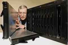 英特尔IBM共同打造行业刀片服务器标准