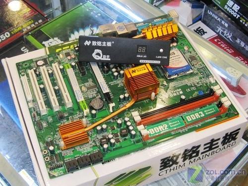 致铭P43 399元,首款热管P43