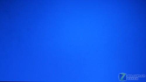 奥图码hd805s投影机显示蓝色效果