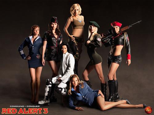 《红色警戒3》七大辣妹谁是你最爱?