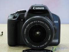 搭配大变焦比防抖镜头 佳能单反450D促销