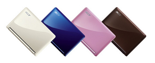Acer上网本获设计大奖  启动新一轮降价