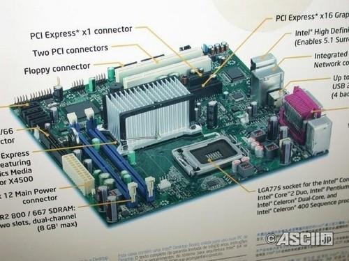 DG41TY主板主要规格-图的就是稳定 英特尔原厂G41大图曝光图片